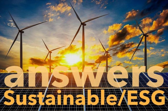 Answers to Frequently Asked Questions about Sustainable ESG Investing